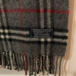 Burberry Cashmere Classic Plaid Scarf